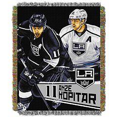 Los Angeles Kings Anže Kopitar Throw Blanket