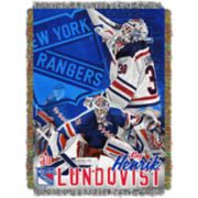 New York Rangers Henrik Lundqvist Throw Blanket