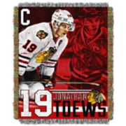 Chicago Blackhawks Jonathan Toews Throw Blanket