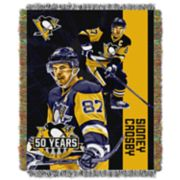 Pittsburgh Penguins Sidney Crosby Throw Blanket