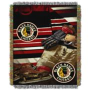 Chicago Blackhawks Vintage Throw Blanket