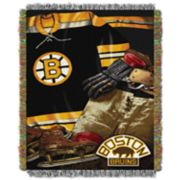 Boston Bruins Vintage Throw Blanket