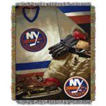 New York Islanders Vintage Throw Blanket