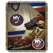 New York Islanders Vintage Throw Blanket