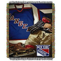 New York Rangers Vintage Throw Blanket