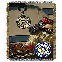 Pittsburgh Penguins Vintage Throw Blanket