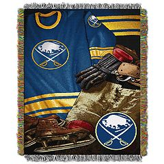Buffalo Sabres Vintage Throw Blanket
