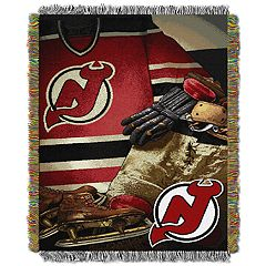 New Jersey Devils Vintage Throw Blanket