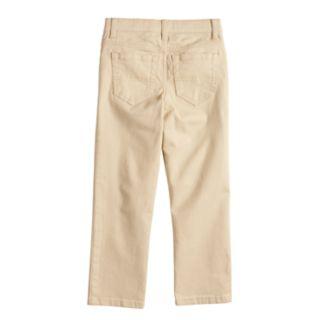 Boys 4-12 SONOMA Goods for Life? Straight Pants in Regular, Slim & Husky