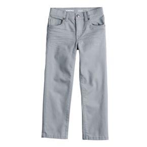 Boys 4-12 SONOMA Goods for Life? Straight Comfy Waist Pants in Regular, Slim & Husky