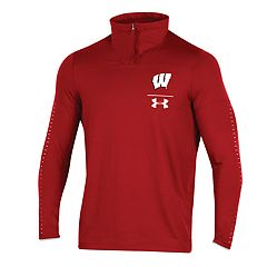 Men's Under Armour Wisconsin Badgers Sideline Pullover