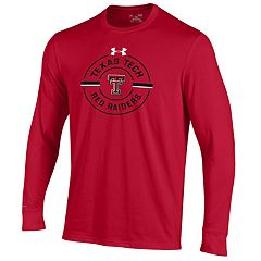 Men's Under Armour Texas Tech Red Raiders Charged Long-Sleeve Tee