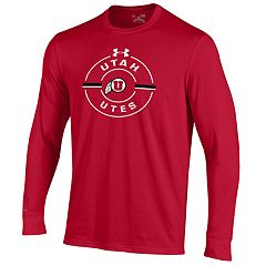 Men's Under Armour Utah Utes Charged Long-Sleeve Tee