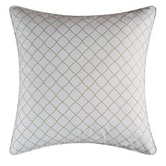 Carol & Frank Green Lattice Euro Sham