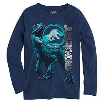 9ddd57d3 Boys 8-20 Jurassic World Raptor Tee