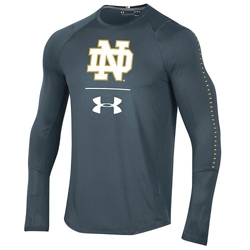 Men's Under Armour Notre Dame Fighting Irish Sideline Raid Tee
