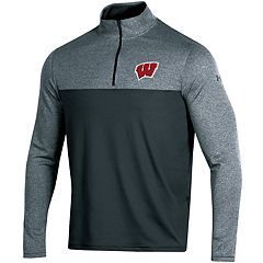 Men's Under Armour Wisconsin Badgers Scratch Pullover
