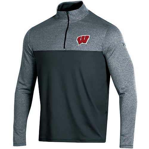 Men's Under Armour Wisconsin Badgers Scratch Pullover