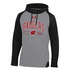 Men's Under Armour Wisconsin Badgers Tri-Blend Hoodie