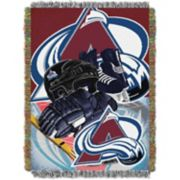 Colorado Avalanche Home Ice Advantage Throw Blanket