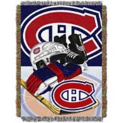 Montreal Canadiens Home Ice Advantage Throw Blanket