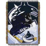 Vancouver Canucks Home Ice Advantage Throw Blanket