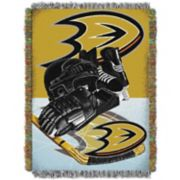 Anaheim Ducks Home Ice Advantage Throw Blanket