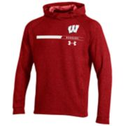 Men's Under Armour Wisconsin Badgers Tech Terry Hoodie