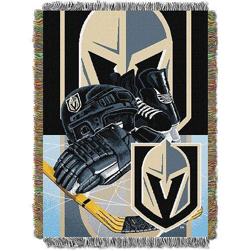 Vegas Golden Knights Home Ice Advantage Throw Blanket