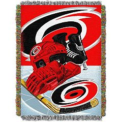 Carolina Hurricanes Home Ice Advantage Throw Blanket