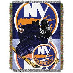 New York Islanders Home Ice Advantage Throw Blanket
