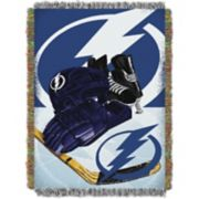Tampa Bay Lightning Home Ice Advantage Throw Blanket