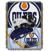 Edmonton Oilers Home Ice Advantage Throw Blanket