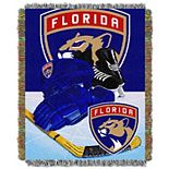 Florida Panthers Home Ice Advantage Throw Blanket
