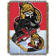 Ottawa Senators Home Ice Advantage Throw Blanket