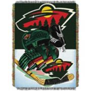 Minnesota Wild Home Ice Advantage Throw Blanket