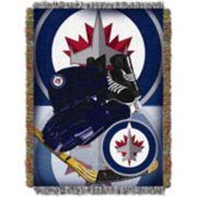 Winnipeg Jets Home Ice Advantage Throw Blanket