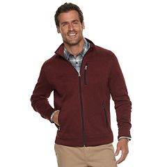 Men's SONOMA Goods for Life™ Modern-Fit Sweater Fleece Zip Jacket