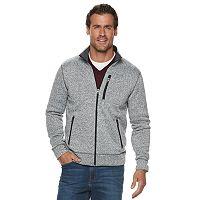 SONOMA Goods for Life Modern-Fit Fleece Zip Mens Jacket