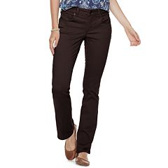 Women's SONOMA Goods for Life™ Midrise Sateen Bootcut Pants