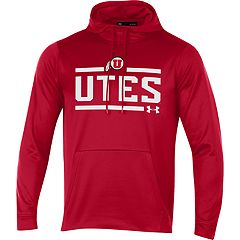 Men's Under Armour Utah Utes Fleece Hoodie