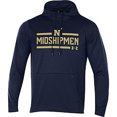 Men's Under Armour Navy Midshipmen Fleece Hoodie