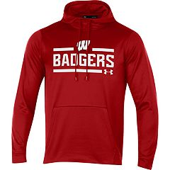 Men's Under Armour Wisconsin Badgers Fleece Hoodie