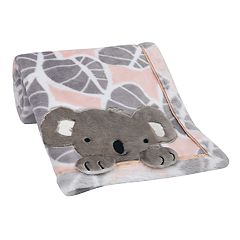 Lambs & Ivy Calypso Plush Baby Blanket