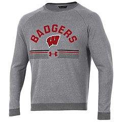 Men's Under Armour Wisconsin Badgers Sport Style Crew Sweatshirt