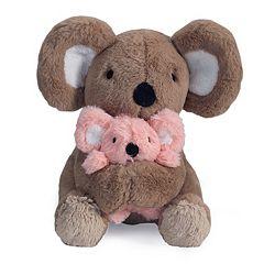 Lambs & Ivy Calypso Fuzzy Koala & Wuzzy Baby Plush