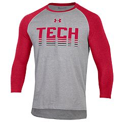 Men's Under Armour Texas Tech Red Raiders Baseball Tee
