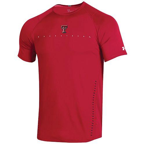 Men's Under Armour Texas Tech Red Raiders Sideline Training Tee