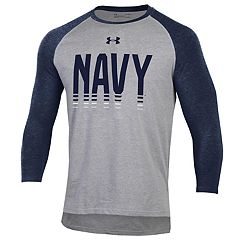 Men's Under Armour Navy Midshipmen Baseball Tee