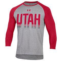 Men's Under Armour Utah Utes Baseball Tee
